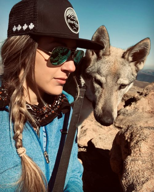 Profile shot of Alyssa
